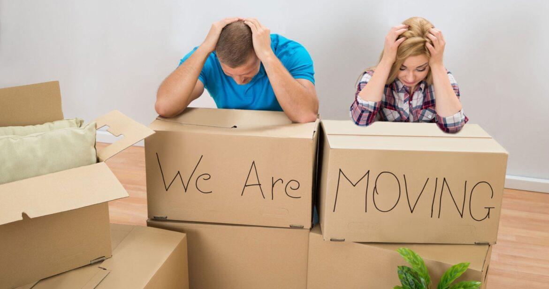 λαθη που πρεπει να αποφυγετε στη μετακομιση